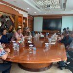 Pertemuan dengan Direksi Bank Jabar Banten (BJB)