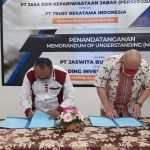 Penandatanganan MOU dengan PT Trust Rekatama Indonesia